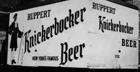 Knickerbocker Beer sign