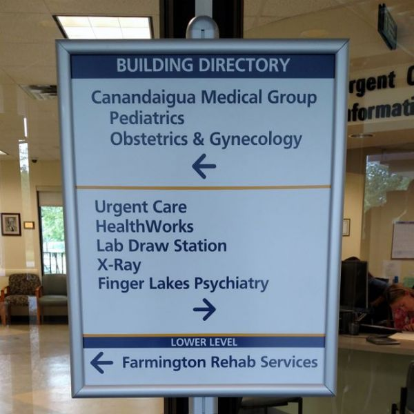 Wayfinding/Directional Signs